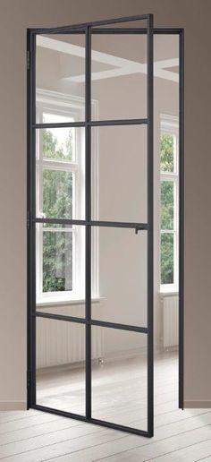 porte metallique vitree en profils en aluminium Avantages