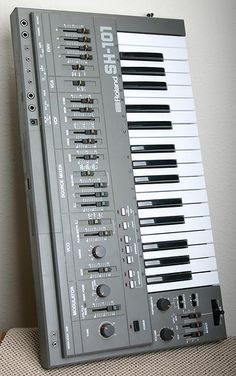 Roland SH-101 best synth ever - the TAL VST is pretty good also.