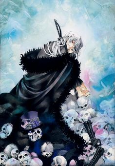 Jun's Picture Symbolism (roses, hands, butterflies, ribbons, etc.) - [ パンドラハーツ ] Pandora Hearts