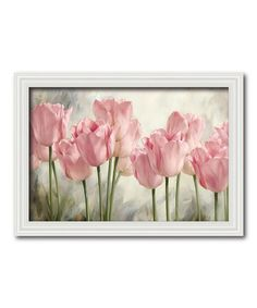 Another great find on #zulily! Tulip Beauty I Framed Canvas #zulilyfinds