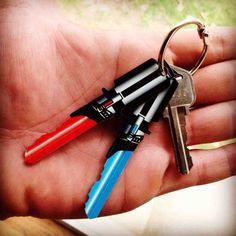 Light Saber Keys For Star Wars Fans. Shut up and take my money!