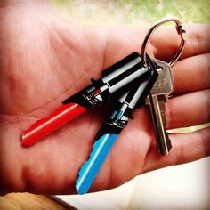Light Saber Keys For Star Wars Fans
