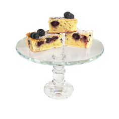 A traditional Czech Blueberry Soufflé Cake with fresh blueberries is an elegant and light dessert. Absolutely delicious!