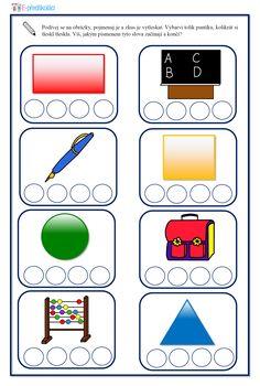 Pracovní list - rozklad slov (sluchová analýza a syntéza) Nintendo Wii, Education, Logos, Logo, Onderwijs, Learning