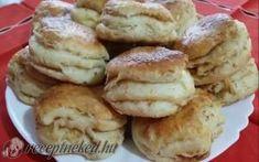 Zsíros pogácsa recept Brenner Anna konyhájából - Receptneked.hu Tapas, Muffin, Food And Drink, Sweets, Cookies, Baking, Breakfast, Anna, Diet