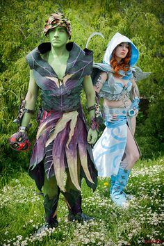 """""""Guild Wars 2"""" Cosplay by Kitty and Aaron:  https://www.facebook.com/pages/K177Y-Cosplay/541652032541466 https://www.facebook.com/ProjectHazeCosplay"""