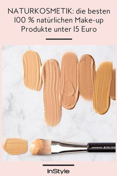 Natural cosmetics: the best natural make-up products under 15 euros - Natural cosmetics fan? These natural makeup products do what they promise – and don& e - Pure Cosmetics, Natural Cosmetics, Make Makeup, Pretty Makeup, Bright Makeup, Colorful Makeup, Organic Makeup, Organic Beauty, Concealer