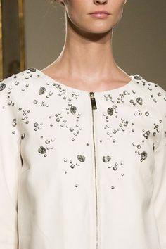 Elisabetta Franchi at Milan Fashion Week Spring 2015 - Details Runway Photos