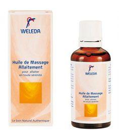 Huile de massage allaitement sur www.babyssima.com