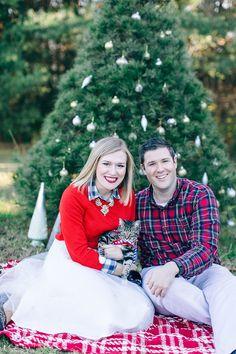 Christmas engagement session | Nikki Santerre Photography | Glamour & Grace