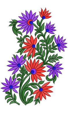 Wall Art Embroidery Design 13092