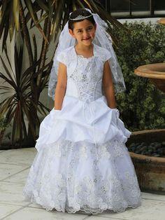 Spanish style holy communion dresses