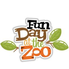 Fun Day at the Zoo scrapbook svg title zoo day svg scrapbook title zoo svg cut files for scrapbooking Scrapbook Images, Scrapbook Borders, Scrapbook Titles, Kids Scrapbook, Scrapbooking Layouts, Digital Scrapbooking, Zoo Clipart, Cute Clipart, Zoo Logo