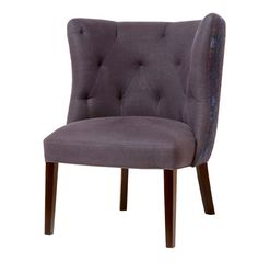 Company: Cisco Brothers  Available in March, 2015  Goodman Chair Navy linen color