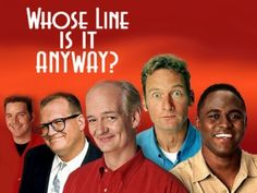 Whose Line Is It Anyway? Hahaha. Scenes from and hat & The Hoedown were my fav skits. TV Shows