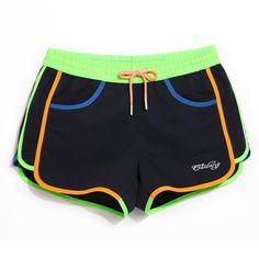 Brand Surf  Beach Short Surf Homme Women's Swimsuits Denim Shorts Swimwear Women's Sportswear Swimming Trunks GWA738