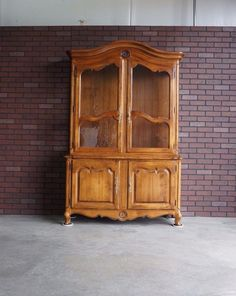 Marvelous China Hutch / China Cabinet / Country French Hutch By Ethan Allen