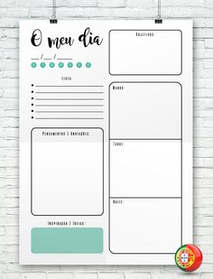 daily task organizer page Bullet Journal School, Bullet Journal 2019, Bullet Journal Tracker, Bullet Journal Ideas Pages, Agenda Planner, Blog Planner, Diary Planner, Student Planner, Printable Planner