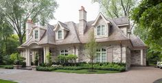 'Old Oakville' - Custom home designed by David Small Designs (www.davidsmalldesigns.com)