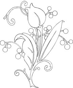 This would also work great for wool applique Free Glass Etching Patterns: Downloadable for Stencil Creating