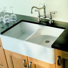 Villeroy and Boch Farmhouse 80 Double Bowl Ceramic Sink
