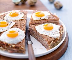 Gourmand magazine vous propose cette recette astucieuse pour préparer des crêpes salées sous forme de croques-madame !