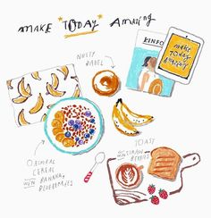 Make today amazing ✨ _ 매일 밤마다 '내일은 꼭!!' 바나나가 늠 먹고싶당 진저쿠키님 내 인스타 보면 퇴근길에 바나나를 사오세요