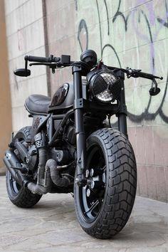 "Vintage Motorcycles 684969424551041201 - Ducati Scrambler 800 ""Nightowl"" Source by Moto Scrambler, Ducati Scrambler Custom, Cafe Racer Motorcycle, Moto Bike, Motorcycle Outfit, Women Motorcycle, Motorcycle Helmets, Ducati Cafe Racer, Cafe Racer Bikes"