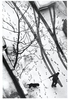 by Andre Kertesz  lovely lovely lovely. almost makes me miss swedish winters. almost.