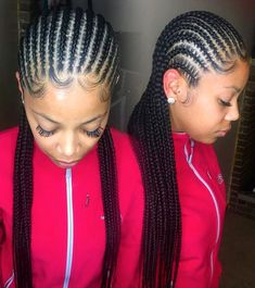 African Hair Braiding : STYLECASTER Protective Hairstyles to Try Straight Back Cornrows Click image for more. Box Braids Hairstyles, Protective Hairstyles, African Hairstyles, Girl Hairstyles, Protective Styles, Medium Hairstyles, Long Haircuts, Hairstyles 2016, Casual Hairstyles