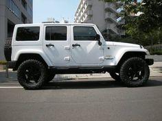 jeep...Love the new 4 door models w/hardtops...my next ride!