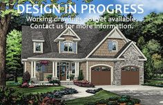 The Oxley plan 1465 is now in progress! 2110 sq ft, 3 beds, 2.5 baths. #WeDesignDreams #DonGardnerArchitects