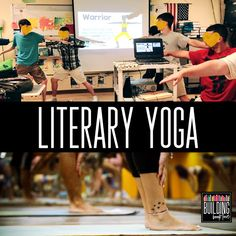 10 Ways to Add Movement in the ELA Classroom - Building Book Love Yoga in the Classroom Ela Classroom, High School Classroom, Classroom Ideas, Classroom Design, Classroom Inspiration, Future Classroom, Middle School Reading, Middle School English, Education English
