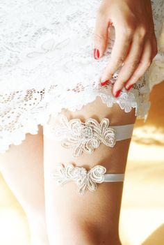 Bridal Garter Wedding Garter Set Gold Garters Wedding Garter Belt