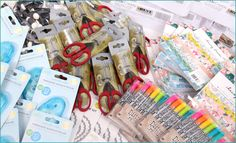 $1,800 Scrapbook.com 18th Anniversary Giveaway  Be one of the 18 entries to win a $100 giveaway package.