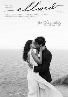 The True Lovestory on the Cover of the New Ellwed Magazine Destination Weddings, Real Weddings, Greece Wedding, Buy Prints, Wedding Ceremony, Magazines, Bridal, This Or That Questions, Couple Photos