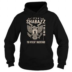 Cool Its a SHABAZZ Thing You Wouldnt Understand - Last Name, Surname T-Shirt (Eagle) Shirts & Tees
