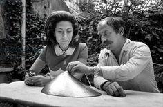 Cesar and Helene Rochas, 1968