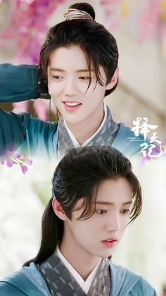 Luhan long hair so precious, fighter of Destiny/winner of beauty pageant Chanyeol, Sehun And Luhan, Luhan Drama, Fighter Of The Destiny, Exo Lockscreen, Kim Minseok, Hunhan, Chinese Boy, Pretty Men