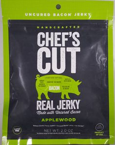Chef's Cut Real Jerky - Applewood bacon jerky review. http://jerkyingredients.com/2017/03/20/chefs-cut-real-jerky-applewood-bacon-jerky/ @chefscutrealjerky #chefscutrealjerky #baconjerky #review #food #jerky #ingredients #jerkyingredients #jerkyreview #bacon #paleo #paleofood #snack #protein #snackfood #foodreview #applewood #applewoodsmoke