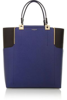Lanvin Partition Leather Tote
