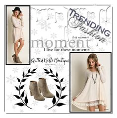 """""""2. I live for these moments"""" by hetkateta ❤ liked on Polyvore featuring Umgee, Nivea and knittedbelleboutique"""
