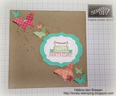 Lovely Stamping, Stampin'Up!, everyday occasions