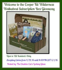 Win the Wilderness Walkabout Giveaway! 1 winner, USA only, from April 24th - May 1st, 2015. Packed full with creativity activities and much more!