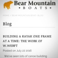 A big thanks to @bearmountainboats for the article in their Blog