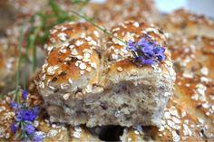 Rågbröd i långpanna Bread Recipes, Baking Recipes, Healthy Baking, Bread Baking, Salmon Burgers, Baked Goods, Bakery, Muffin, Cooking