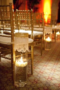 Aisle Decor   San Francisco wedding