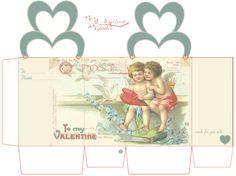 glenda's World : Valentine Brownie Boxes and Cookie Wraps