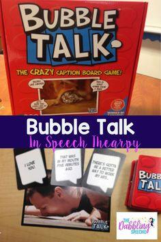 bubble talk in speec