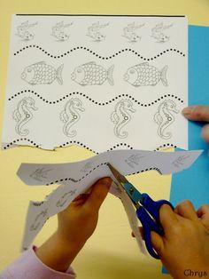 Le Journal de Chrys: Des vagues en maternelle